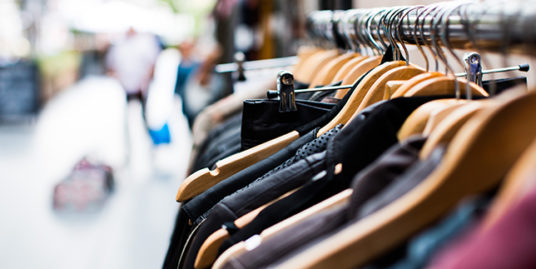 clothing retail space for lease