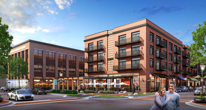 Liberty Place: New Mixed Use Redevelopment in Downtown Fredericksburg