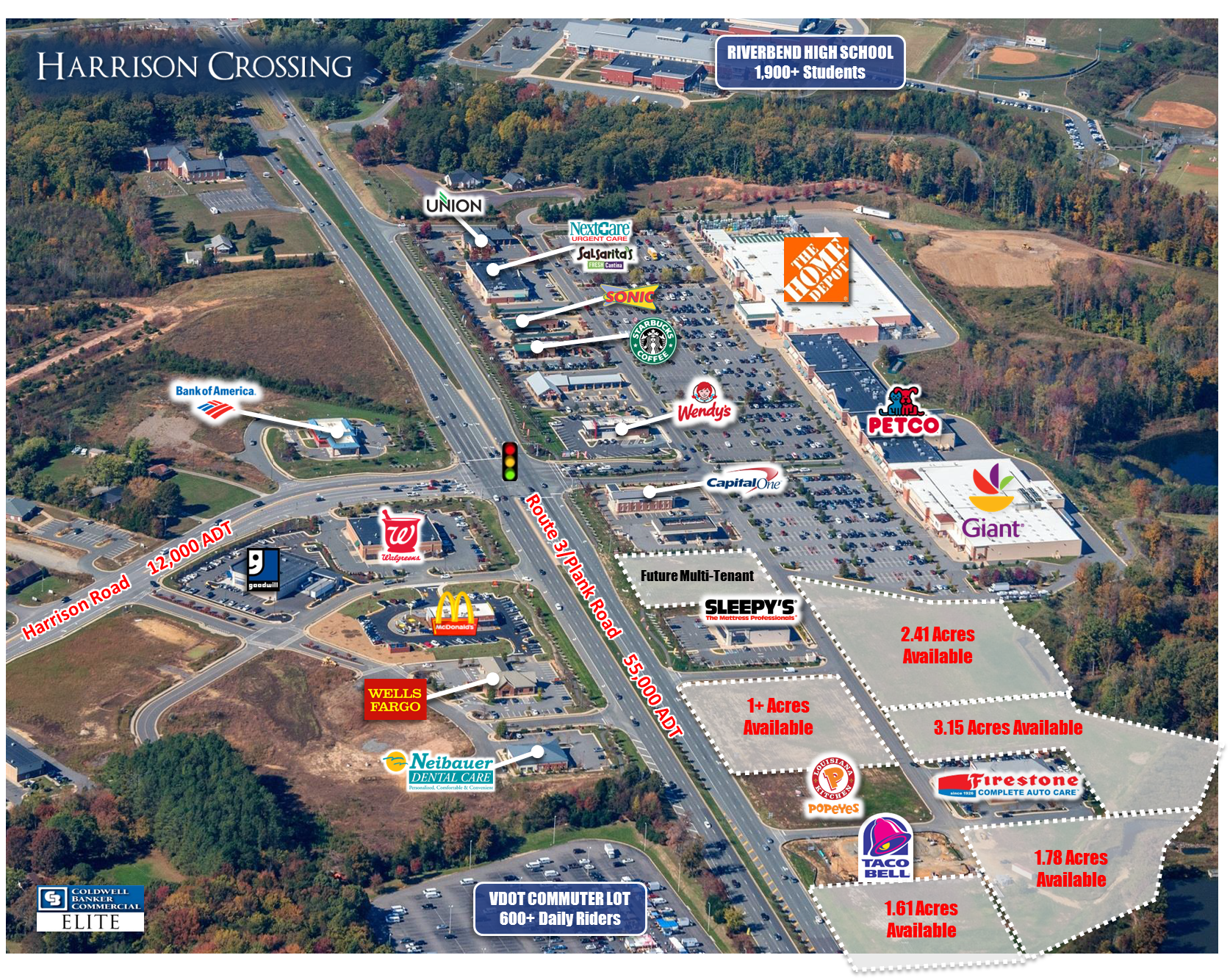 Harrison Crossing Pad Sites Coldwell Banker Commercial Elite